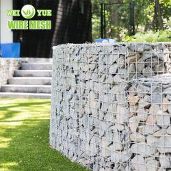 4X4 5x5 6X6 Treillis soudés de gros panneaux de pierre de gabions Panier