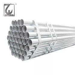 O material de construção do Tubo de Aço tubo redondo Tubo de Aço Galvanizado eléctrico