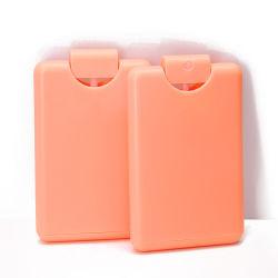 20ml colorido Novo cartão de plástico Spray vaso de perfume