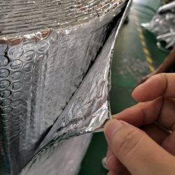 Materiale di isolamento parteggiato termoresistente di costruzione della bolla del di alluminio del rullo doppio