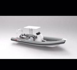 Aluminium, Glasvezel, Rib, Gumdrop, Vissersboot