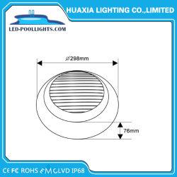 De aço inoxidável 316 montado na parede Piscina LED lâmpada subaquática