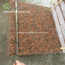 Acabamento Flamed Mosaico de granito vermelho para pisos e revestimento de paredes