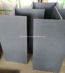 지면 도와 또는 벽 클래딩 포장하기를 위한 자연적인 돌 하이난 어두운 밝은 회색 까만 현무암