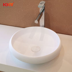 Surface solide bassin dissipateur de lavage double lavabo