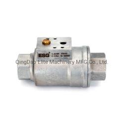 Ar comprimido filtrado ou gás neutro da válvula de transporte VIP Rosca NPT