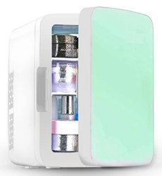 Commerce de gros Portable Mini-frigo DC12V AC Petit réfrigérateur 10L / 15L / 20L Voiture frigo pour boissons, de fruits et légumes et produits cosmétiques