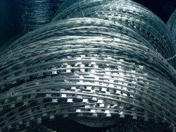 Lâmina de aço inoxidável Arame farpado