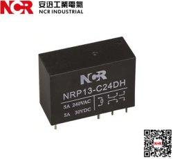 5Um Mini relé PCB Nrp13-12VDC