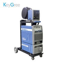 لوحة مفاتيح MIG-500P نبضة مزدوجة IGBT ألومنيوم لحام 3p CO2 MIG/Mag ماكينة لحام العاكس الصناعي مع ترولي وخزان مياه (NBM-500)