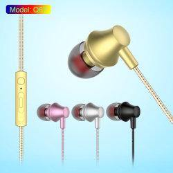 마이크 양을%s 가진 금속 고품질 형식 이어폰