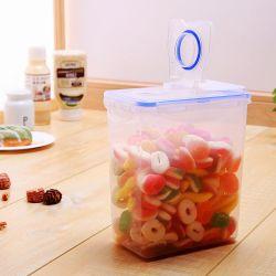 1600ml FDA abono de contêineres de plástico para armazenamento de alimentos com tampa/Limpar o recipiente de alimentos