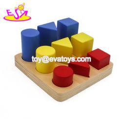 Venda por grosso de madeira Pedagógicos Montessori Educação para Crianças W14G007