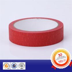 Cinta adhesiva roja de propósito general para la escuela o la oficina de la máscara de pintura