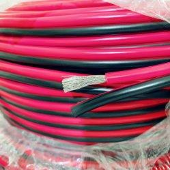 Awm 2468 18 doppio rame gemellare elettrico dell'AWG di colore rosso 18 del nero del collegare del PVC del cavo di collegare del calibro 300V ha incagliato il cavo per l'estensione della striscia del LED