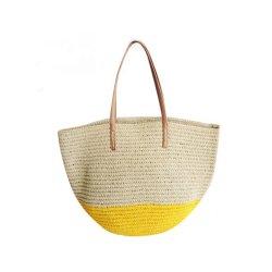 Manier van het Document van 100% de Met de hand gemaakte Dame Handbag voor Vakantie
