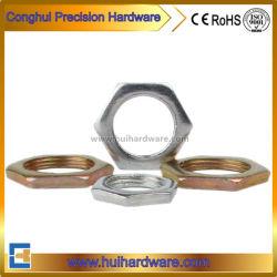 Напряжение питания на заводе оцинкованной тонкие шестигранные гайки, с шестигранной головкой и стопорные гайки