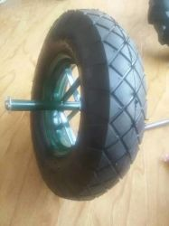 Rueda de carro neumático Rueda de goma de aire 400-8