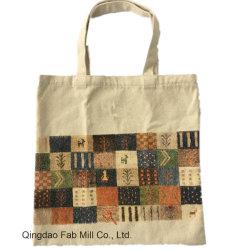 100% algodão saco de mão de lazer personalizados (HBG-009)