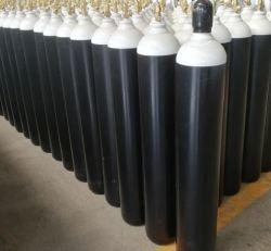 Dióxido de carbono Bevage de oxigénio acetileno em alumínio para fins medicinais de alta pressão Cilindro de gás de O2 de aço sem soldadura árgon de CO2