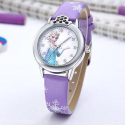 Ice Princess Étudiant de regarder les élèves Cartoon Cute montre à quartz