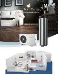Verwarmingshuis van het luchtbronhuis gebruik warmtepompen voor Verkoop luchtwarmtepomp voor huishoudelijk heet water