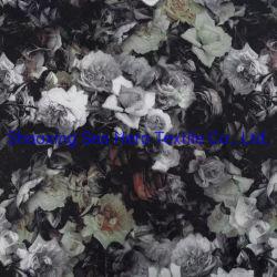 Le coton Spandex Hight tissu à armure sergé la qualité de l'impression numérique