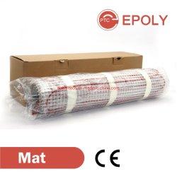 200W/m2 de suelo de alambre eléctrico CE Calentamiento Mat