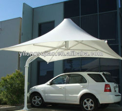 Car Parking RoofのためのPVC Coated Fabric