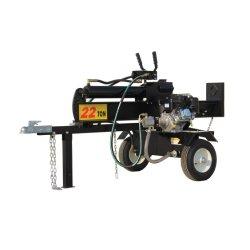 22 Ton Log Gás Splitter, GASOLINA B&S XR950 Madeira Vertical Splitter Máquina de processamento