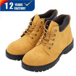Ce style de base des meilleures vente industriel Hommes Chaussures de sécurité de la Construction/ Chaussures en cuir en daim de femmes travaillent Garantie de qualité le commerce de gros Heavy Duty