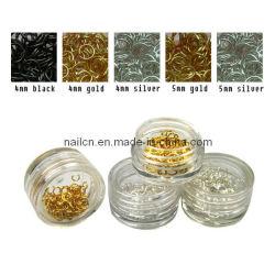 Arte del chiodo, bellezza del chiodo, ornamento del chiodo, anello di arte del chiodo