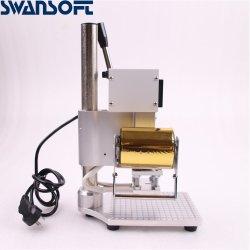 آلة جديدة للإمهاب اليدوي للجلود ورقة الخشب ماكينة تدفئة الأحرف آلة ختم ورقة معدنية ساخنة
