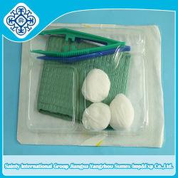 Kit de plateau dentaire jetables de différentes couleurs avec la CE et l'ISO