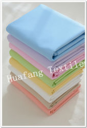 T/C 65/35 Poli/Blanco/tejido de algodón teñido