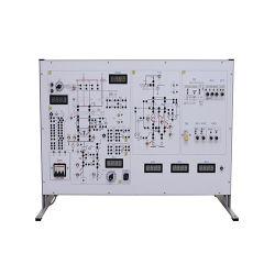 معدات التمرين المعملي الخاصة بمدرب أنظمة الطاقة الكهربائية للحماية والتشغيل التلقائي معدات المعمل الكهربائي للجامعة