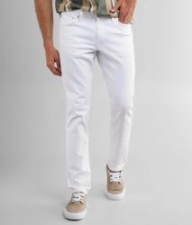 Étirer Jean Mens Jeans Denim vêtements blancs OEM