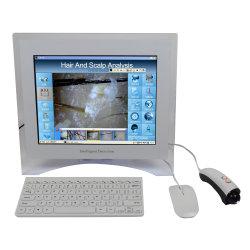 El analizador portátil de cabello y cuero cabelludo / Cabello piel Dispositivo de análisis