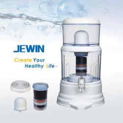 16L'eau minérale en céramique pot avec couvercle plat