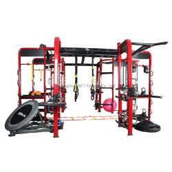 صالة ألعاب رياضية معدات اللياقة البدنية بناء السلع الرياضية التآزر 360 آلة