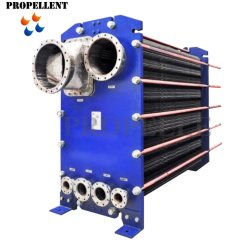 Tipo de placa de condensador, evaporador Intercambiador de calor para el azúcar glucosa ácido cítrico de almidón de la condensación de vapor de refrigeración de la melaza