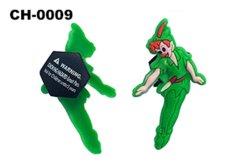 Personaje de dibujos animados Cute Fairy Decoración en 3D Niños obstruir el encanto de goma