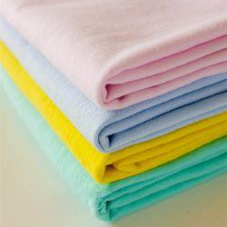 100% coton 20*10 40*42 150gsm double faces plaine tissu teint en flanelle brossé