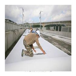 سعر المصنع ألياف طويلة سبانبوند الحيوانات الأليفة مستمرة الفيليه غير منسوجة Geotextile للطريق