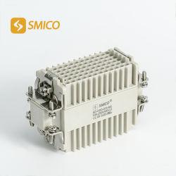 방수 IP65를 가진 72pin 직사각형 전기 연결관