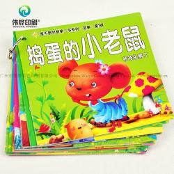 Guangzhou moins cher en carton à couverture rigide pleine couleur Impression de livres pour enfants