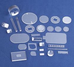 Vidro de quartzo de sílica fina placa de cristal de quartzo de Química de vidro