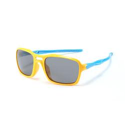 2020 Nouveau Style UV400 rétro polarisé Cartoon confortable Silicon Enfants Lunettes de soleil