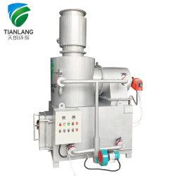 Fornace residua medica/fango portatile/della plastica inceneratore
