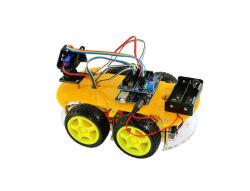 4WD Bluetooth bricolage multifuncional de controle de robô inteligente inteligente contornar um obstáculo a um kit veicular Educação Kits do Robô
